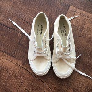 JCrew Tretorn sneakers